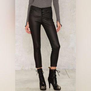 Nasty Gal Jeans - NWT Nasty Gal RES Denim Coated Skinny Crop Jeans